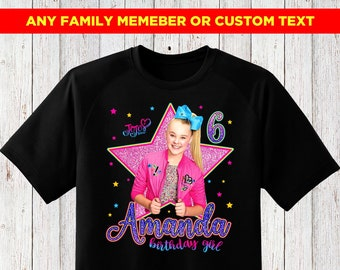 Jojo Siwa Birthday Shirt For Girl Family Shirts