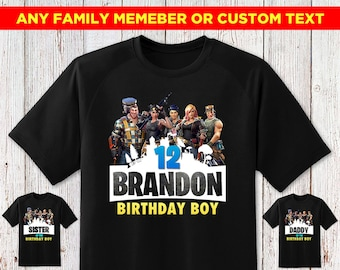 Battle Royale Shirt Birthday Boy Boss Gamer