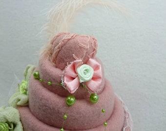 006420de3a62 Centre de table fille pour baptême, anniversaire, babyshower, décoration de  chambre bébé, gâteau de couches, reveal party, fête prenatale