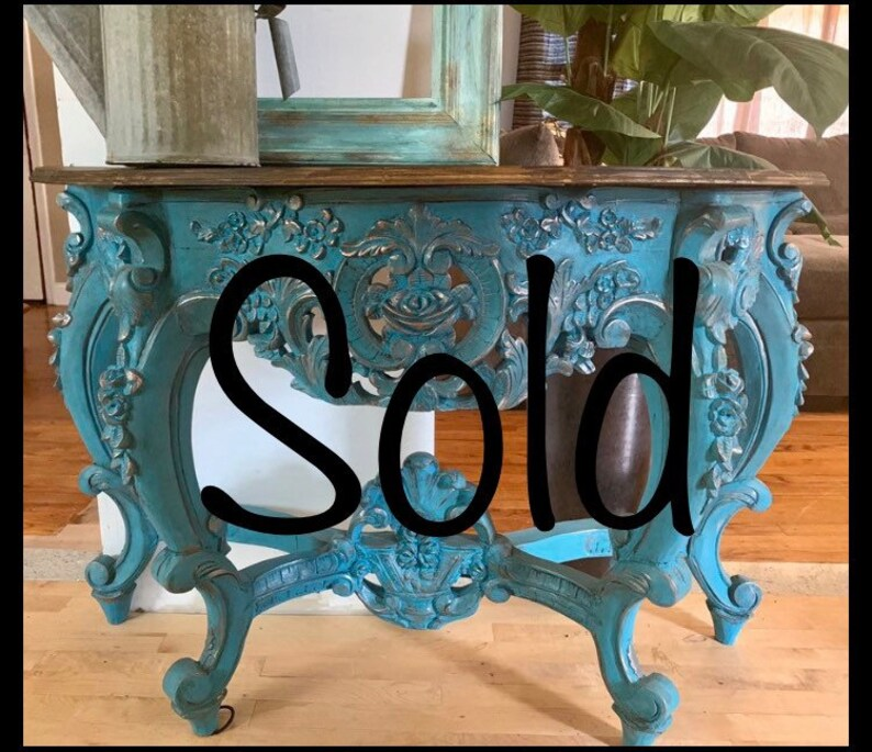 Entryway Table, Console Table, Sofa Table, Rustic/Glam Table, Half Moon  Table