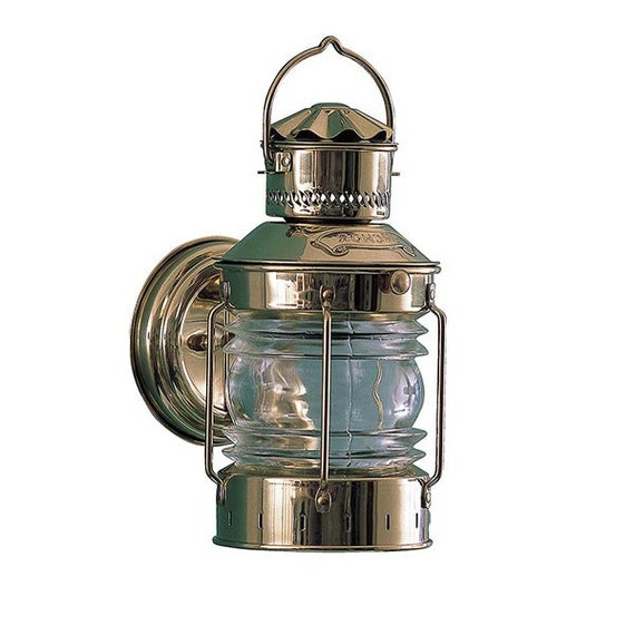 Solid Brass Bracket Anchor Light Indoor, Can An Outdoor Light Be Used Indoors