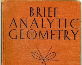 Brief Analytic Geometry