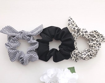 Cute Satin Ribbon Bow Baby Girls Newborn Elastic Hair Rubber Bands Ring For Children Hair Ties Bows Scrunchies Ornaments Tiara Hair Accessories Girls' Clothing