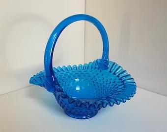 Miller Canterbury Art Glass Blue