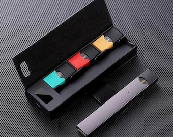 NEW Compatible JUUL Charging Case With 3 Pods Storage