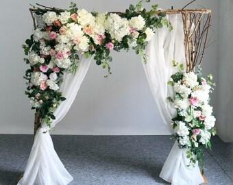 Wedding Arch Flowers Etsy