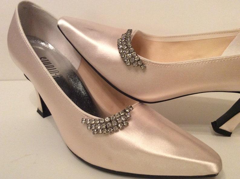 Shiny Bridal Wedding Shoes Clips Crystal Rhinestone Decor  Accessories NJ