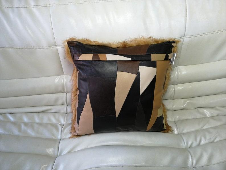 Pillow cover raccoon