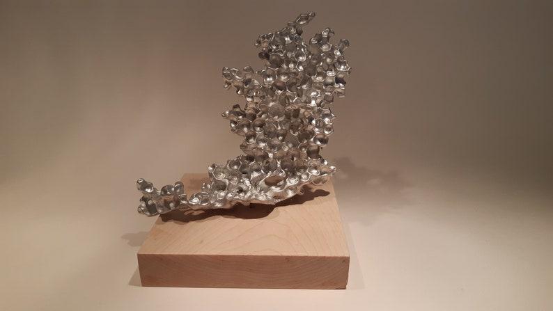 Aluminum sculpture, Anthill casting, Anthill art, Bookcase ornaments, Fish  tank ornaments, Fish tank decorations,