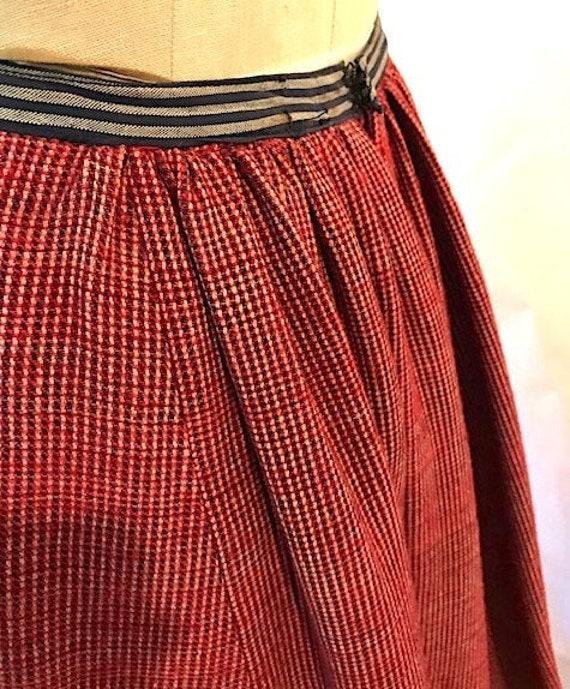 Victorian Wool Skirt