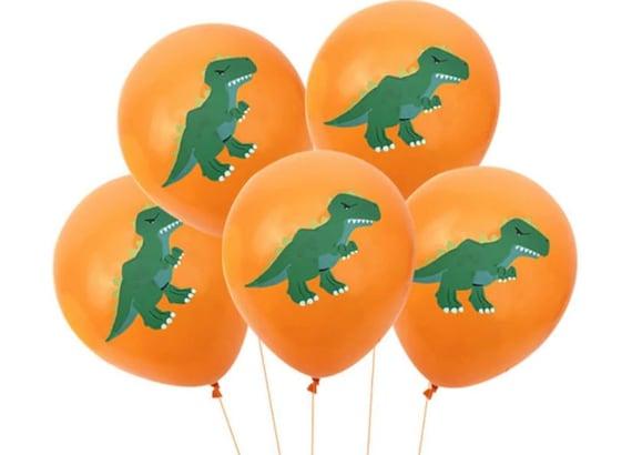 Dinosaur party Balloons Dinosaur Party Decorations Dinosaur party decor 1st birthday party Dinosaur party 12 tropical Balloon bunch