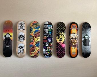 Made in the USA Skateboard Wall Mounted Display Rack