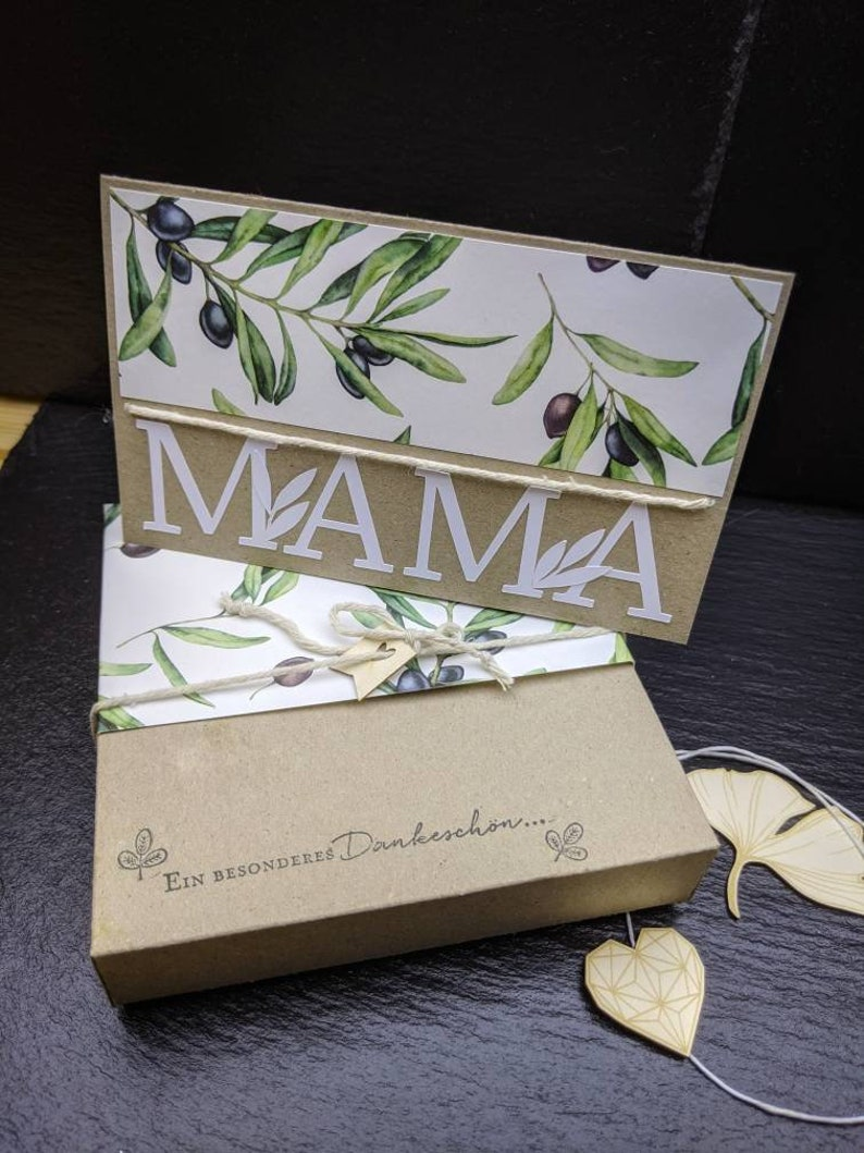 Mother's Day Gift Mother's Day Greeting Card For Mom image 0