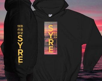 aa8bb3bfb14 Jaden Smith Hoodie - Syre Hoodie - Icon - Vintage - Rap Hoodie - Jaden  Smith Merchandise - Vaporwave