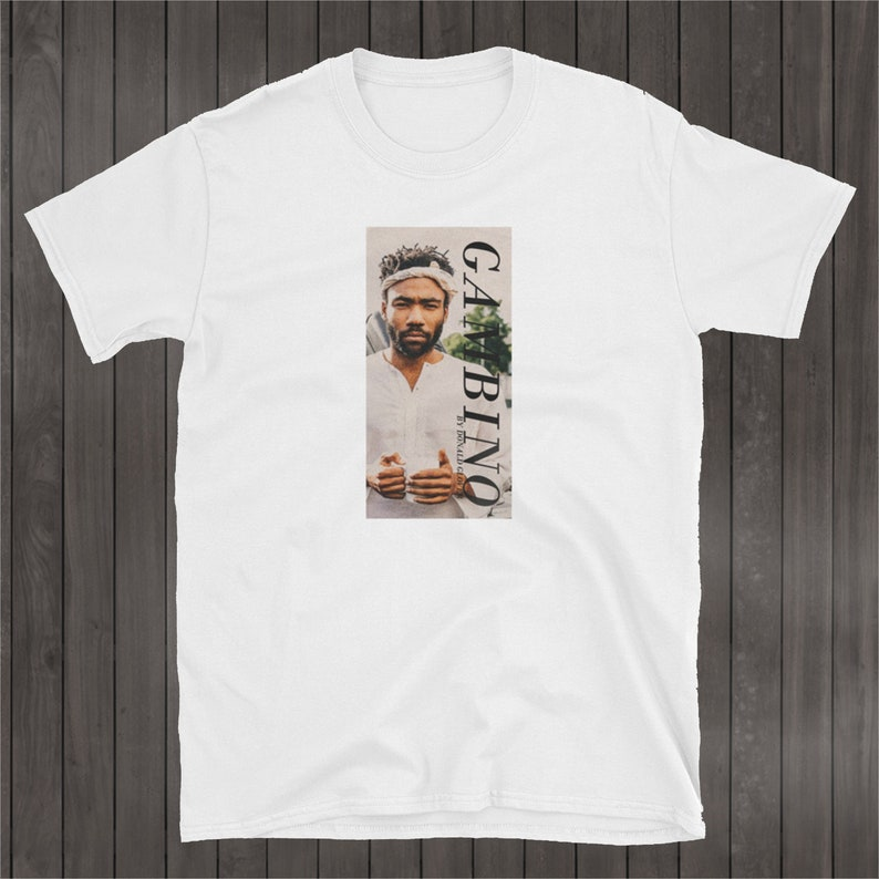 d4e0a8a82d2 Childish Gambino T-Shirt Donald Glover Vintage Rap Shirt
