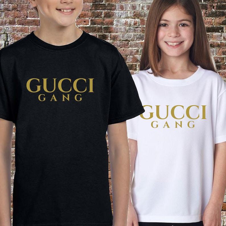 154fc4d7ca4 G Gang Lil Pump Hip hop Rap Kid s T-shirt