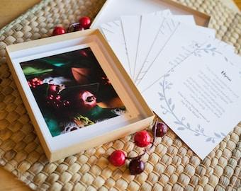 Advent Calendar Cards In Box