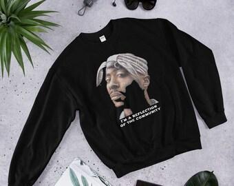 c23561401dd39 2pac Tupac sweatshirt . Tupac Shakur Sweatshirt
