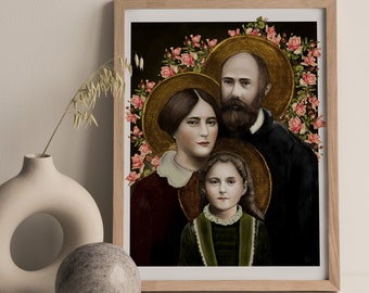 St. Zelie, St. Therese, and St. Louis Martin