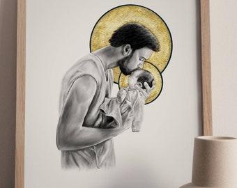 St. Joseph and Infant Jesus