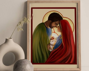 The Holy Family Print