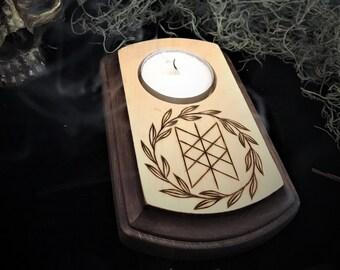 Web of Wyrd Candleholder