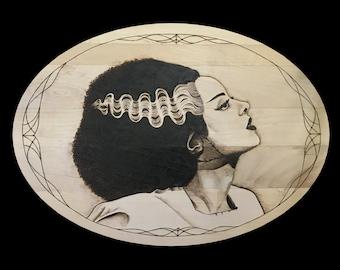 Bride of Frankenstein Giclee Print