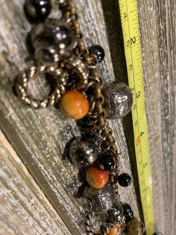 French Charm Bracelet, Vintage Charm Bracelet, Vi… - image 3