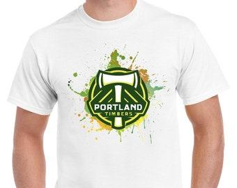 267c6e9ef0 Major League Soccer Team Logo T Shirt - Tees For Men - Cool, Fresh, White,  Short Sleeve T Shirt For Boys