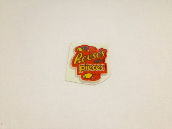 Vintage 1980s Puffy Reese/'s Pieces Sticker