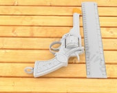 Indiana Jones and the Temple of Doom Webley .38 IV 3D Printed 1:1