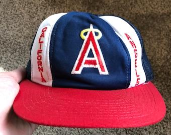 b335c909ea3 Vintage California Angels Snapback Hat
