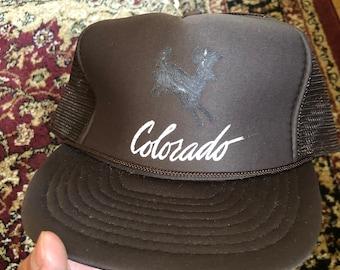 caba052e02722 Vintage Colorado Snapback Hat