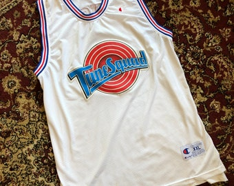 34ca559bd6a Vintage Bugs Bunny Tune Squad Champion Jersey
