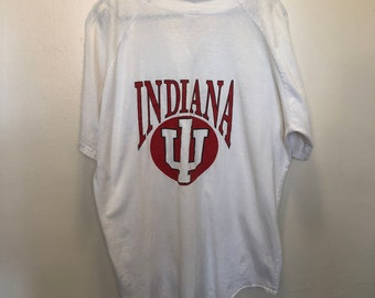 4c4760b5896e Vintage Indiana Hoosiers Soffe Baseball Jersey