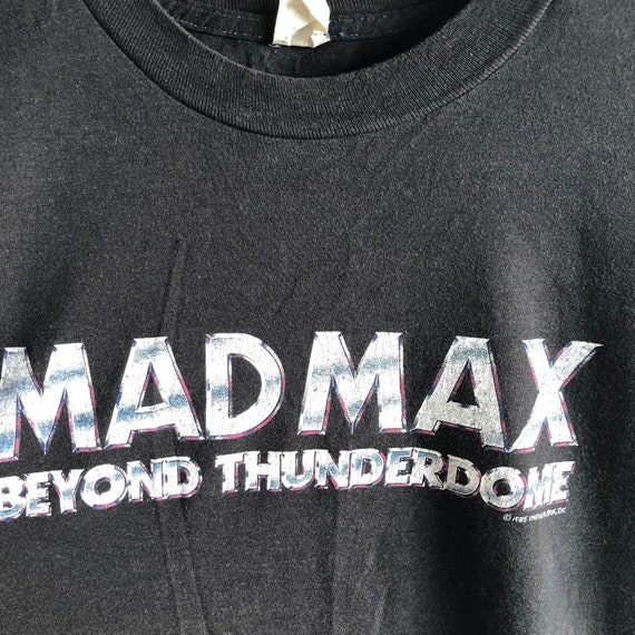 master blaster 1985 mel gibson MAD MAX Beyond Thunderdome inspired tshirt