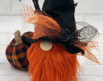 Witch gnome |  Hocus Pocus decor | Sanderson sisters | Halloween gnomes | Halloween tiered tray | Halloween decorations | Witch hats