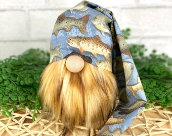 Fishing gnome hat | Fathers Day Gift | Summer Tiered Tray | Gift idea Fisherman | DIY Kit