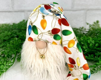 Christmas gnomes | Holiday gnome decor | Christmas gnome ornaments | holiday tiered tray decorations | Christmas decorations
