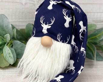 Blue Reindeer Gnome Hat