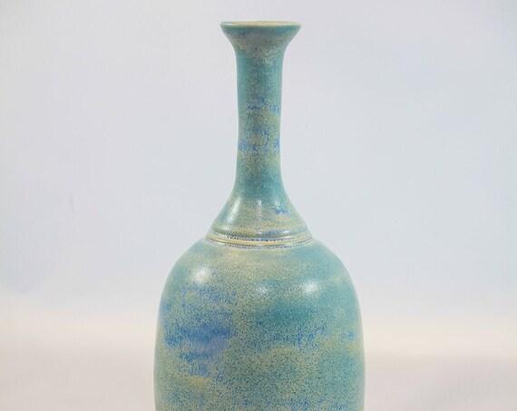 Long Necked Vari-Color Bottle Vase
