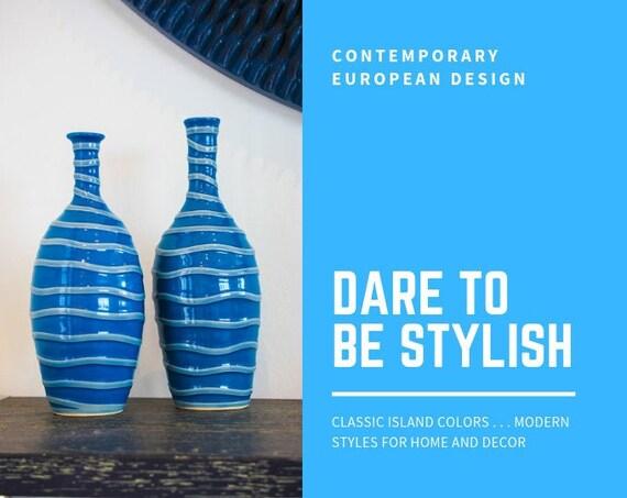 Dare to be Stylish Bottle Vases - (2)
