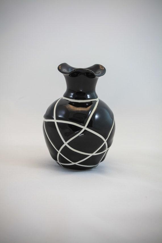 Modern Fluted Bud Vase