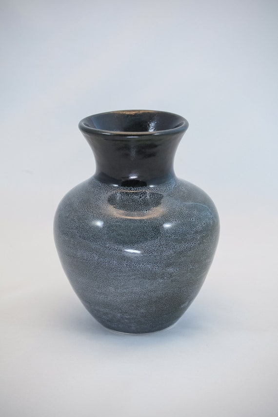 Contemporary Black and Grey Vase - II