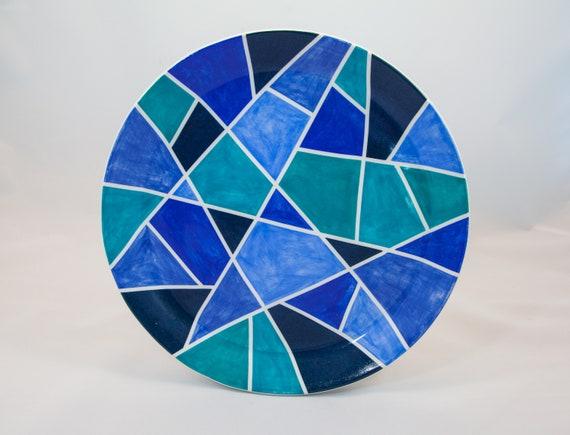 Geodesic Serving Platter