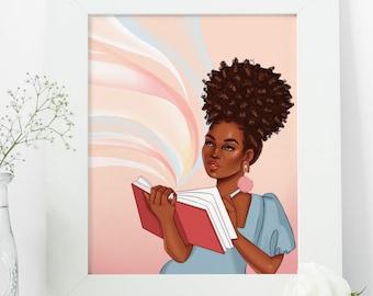 Limitless - African American Fashion Illustration Art Print