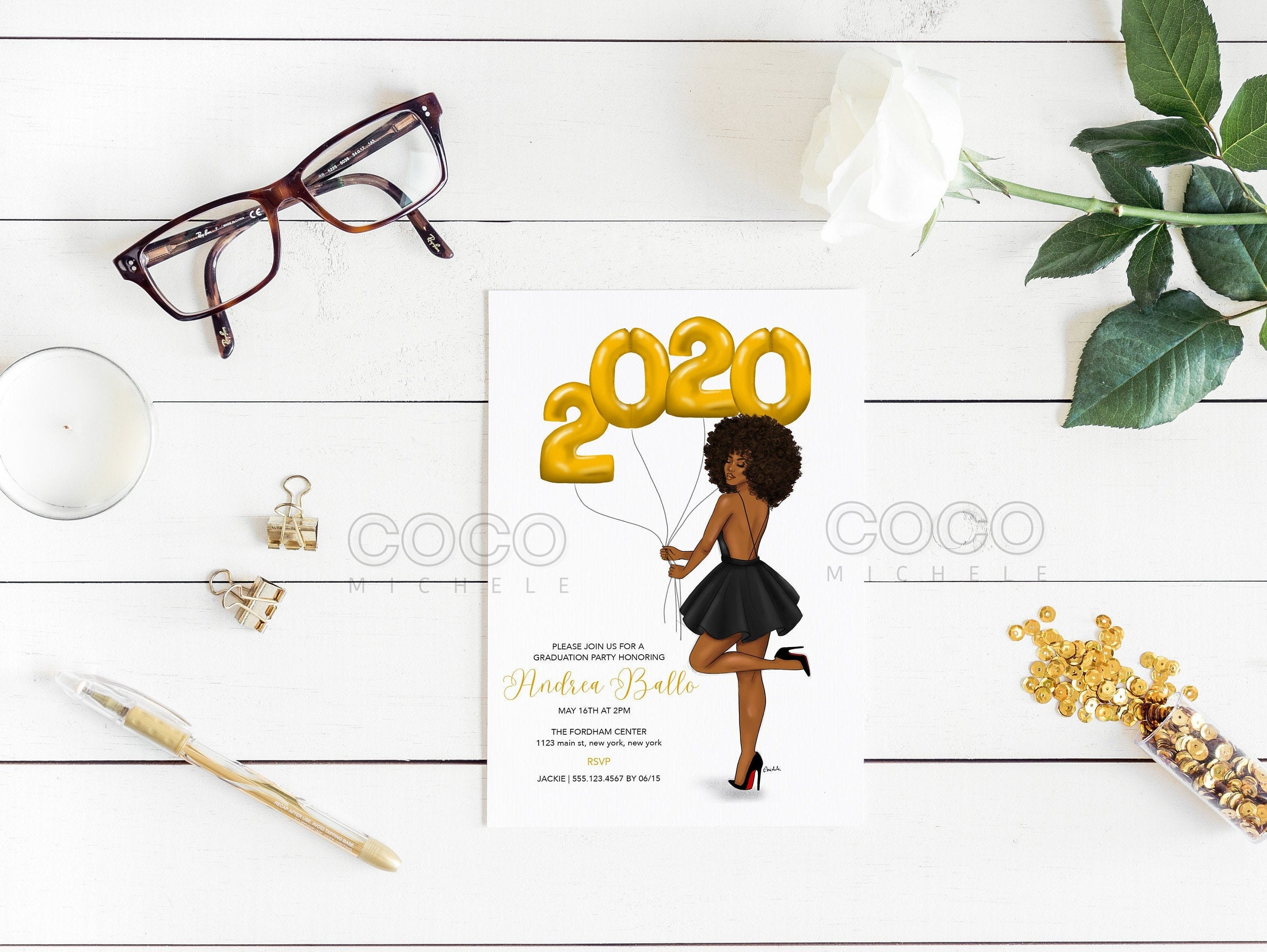 This is a graphic of Epic Free Printable Graduation Invitations 2020