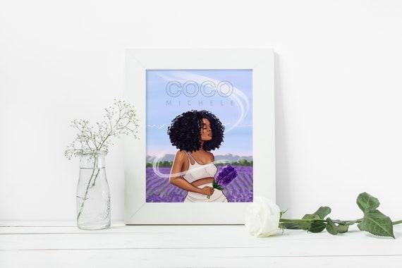 Forgiven - African American Fashion Illustration Art Print