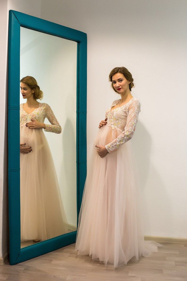 1a091ab45b6 Mother daughter dresses maternity photo family photoshoot lace
