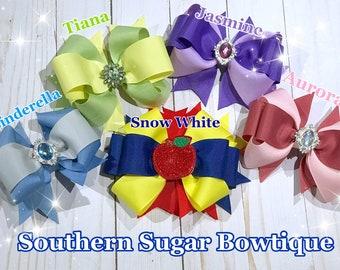 8cedf5309944c9 Disney princess bows